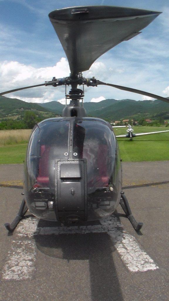 Elicottero Falco : Sorvoli e decolli… aeroclub modena